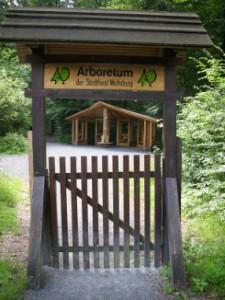 Eingang Arboretum